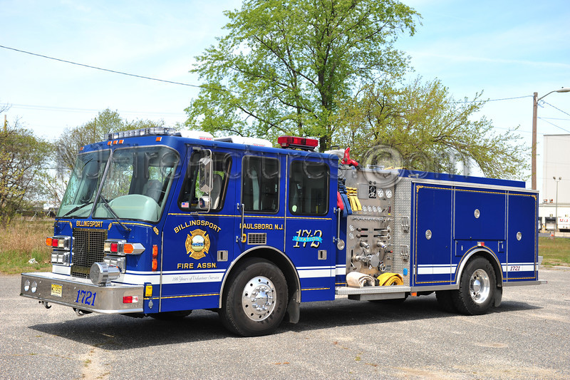 PAULSBORO (BILLINGSPORT FIRE ASSN.) ENGINE 1721
