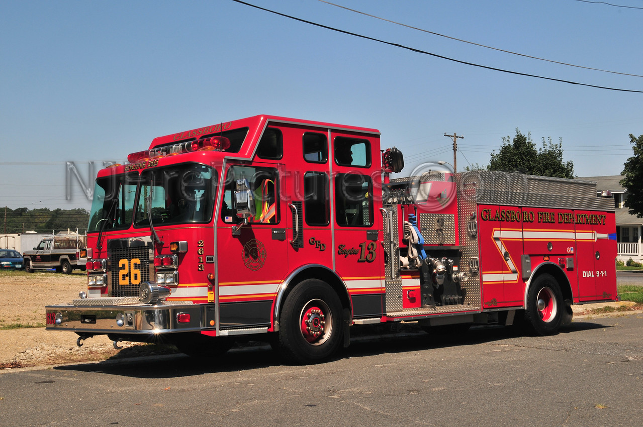 Glassboro Engine 2613 - 2001 Spartan/Smeal 1500/850