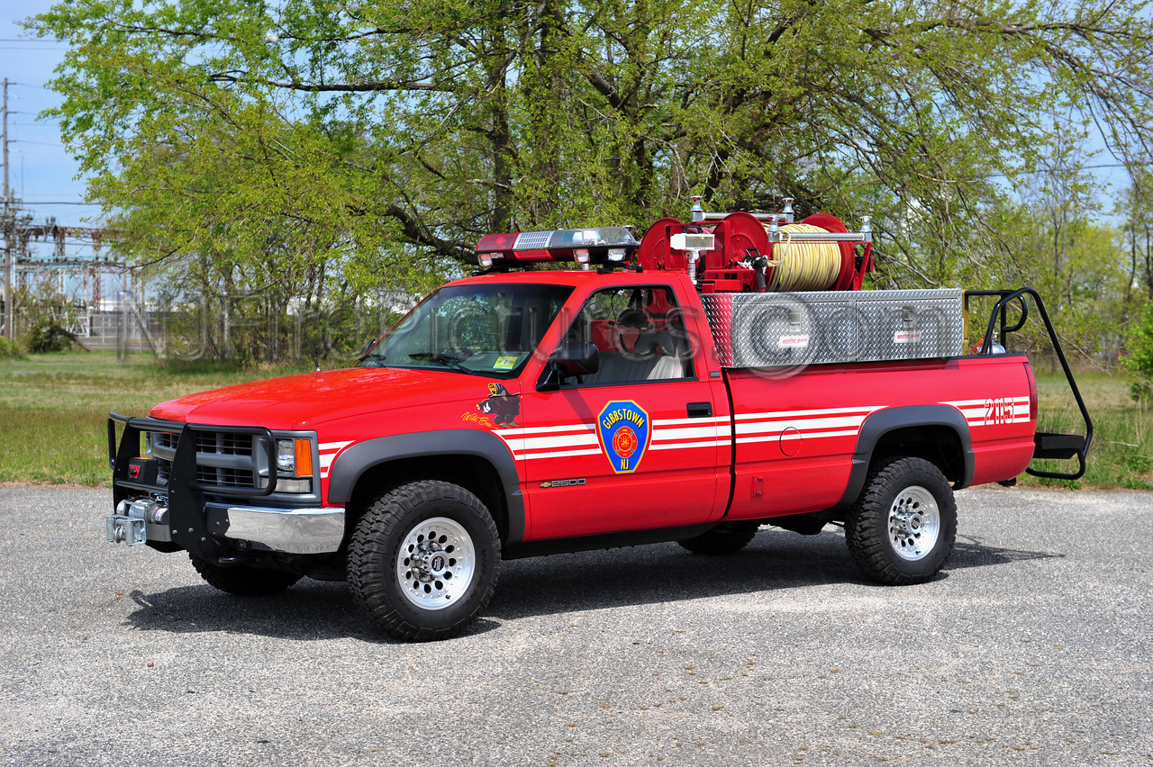 GREENWICH TWP (GIBBSTOWN FIRE CO.) BRUSH 2115 - 1994 CHEVY 2500  250/250