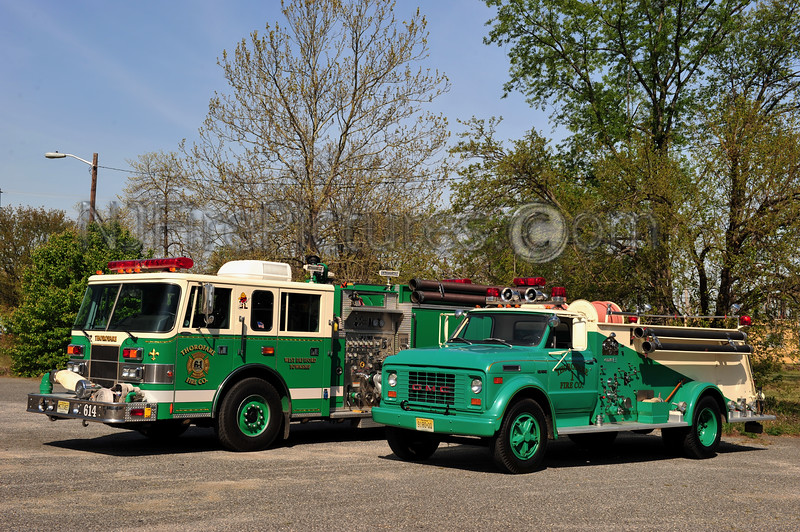 WEST DEPTFORD (THOROFARE F.C.) ENGINE 613 - 1970 GMC C60/BOARDMAN 750/750 AND ENGINE 614 - 1998 PIERCE SABER 1500/750