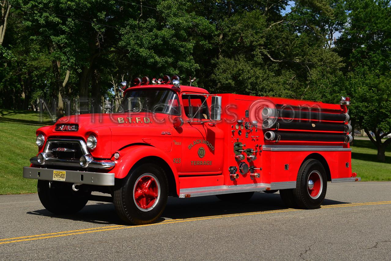 DEPTFORD TWP, NJ BLACKWOOD TERRACE F.C. ENGINE 923