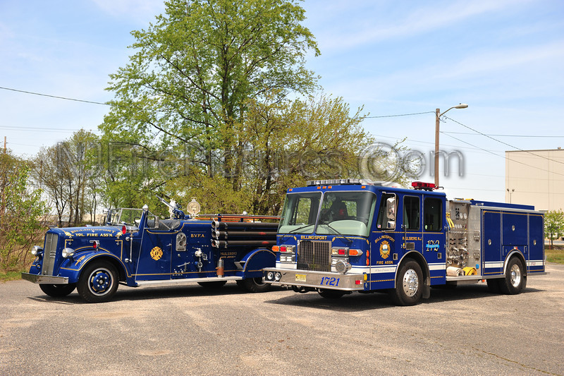 PAULSBORO, NJ (BILLINGSPORT FIRE ASSOC.) OLD & NEW