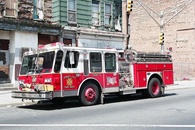 JERSEY CITY, NJ ENGINE 13