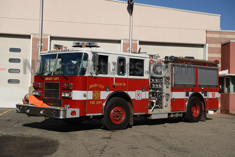 JERSEY CITY, NJ ENGINE 18