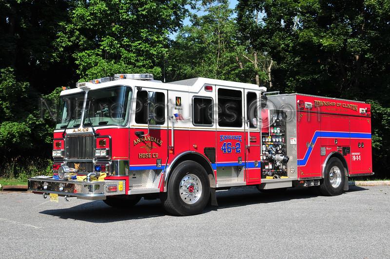 CLINTON TOWNSHIP, NJ ENGINE 46-2 ANNANDALE FIRE CO.