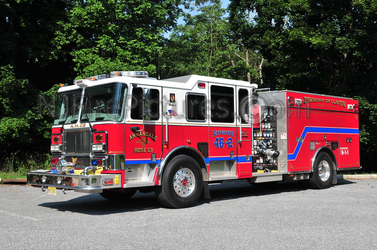 CLINTON TOWNSHIP, NJ ENGINE 46-2 ANNANDALE FIRE CO.