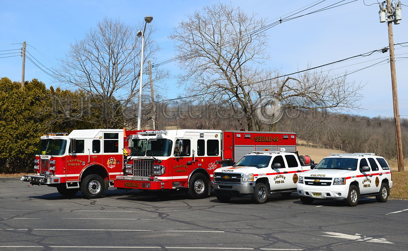 CALIFON, NJ APPARATUS GROUP PHOTO