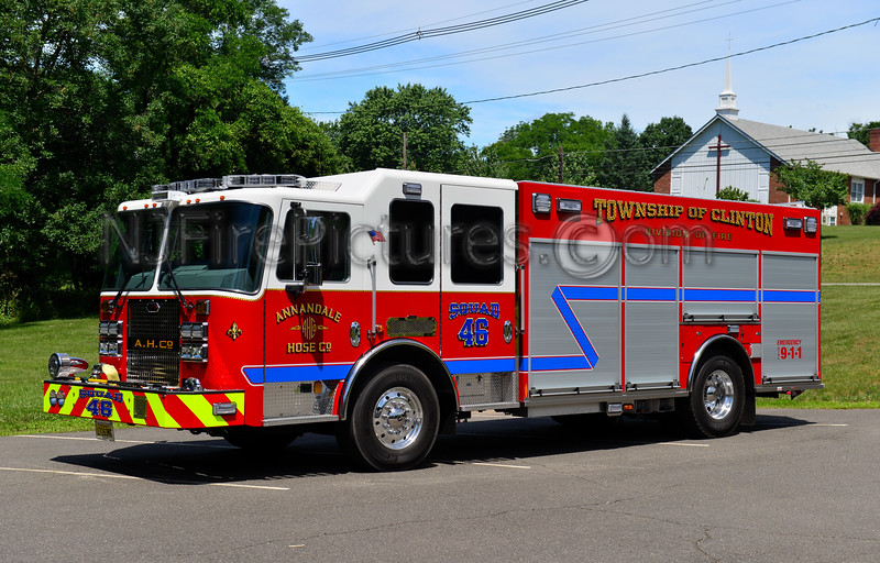 TOWNSHIP OF CLINTON, NJ SQUAD 46 ANNANDALE FIRE CO.