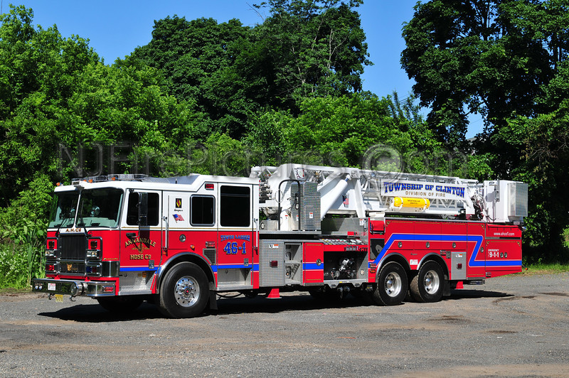 CLINTON TOWNSHIP, NJ TOWER 46-1 ANNANDALE FIRE CO.