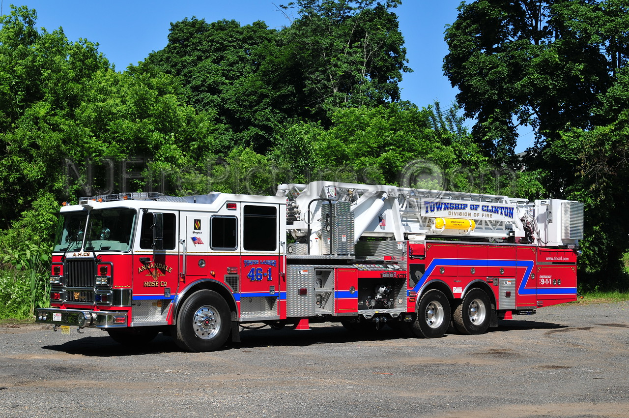 CLINTON TOWNSHIP, NJ TOWER 46-1 ANNANDALE FIRE CO.