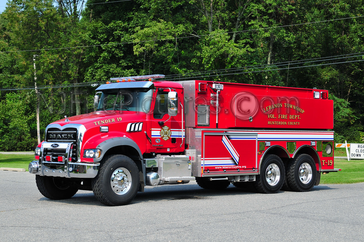 LEBANON TOWNSHIP, NJ TENDER 19
