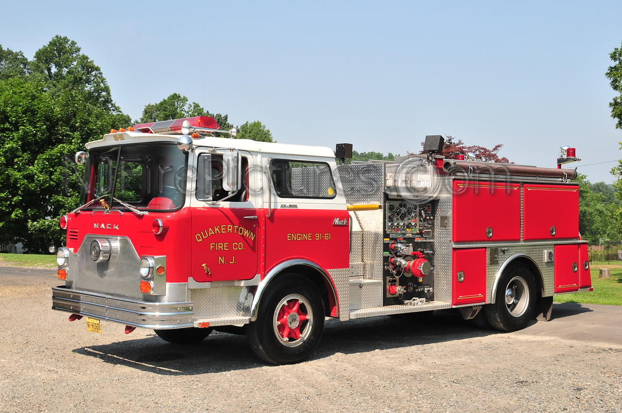 QUAKERTOWN, NJ ENGINE 91-61