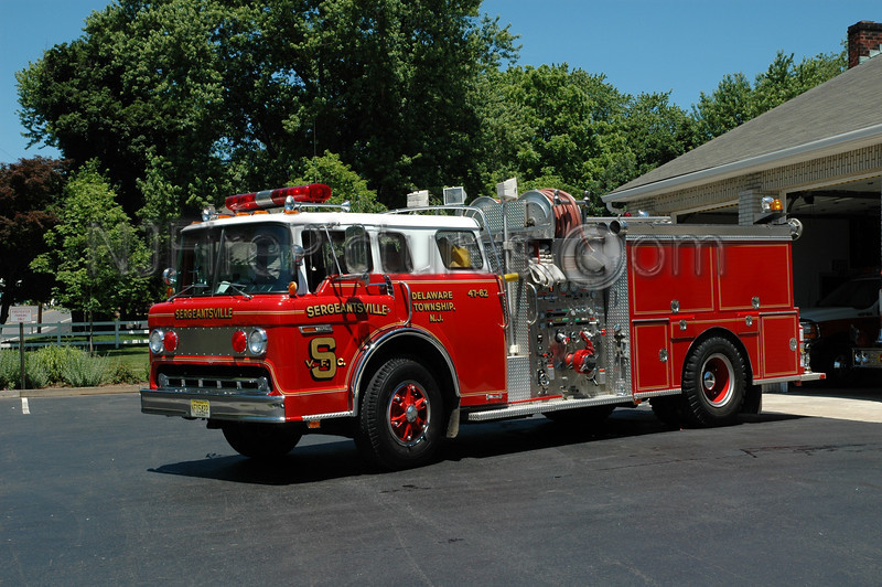 SERGEANTSVILLE, NJ ENGINE 47-62