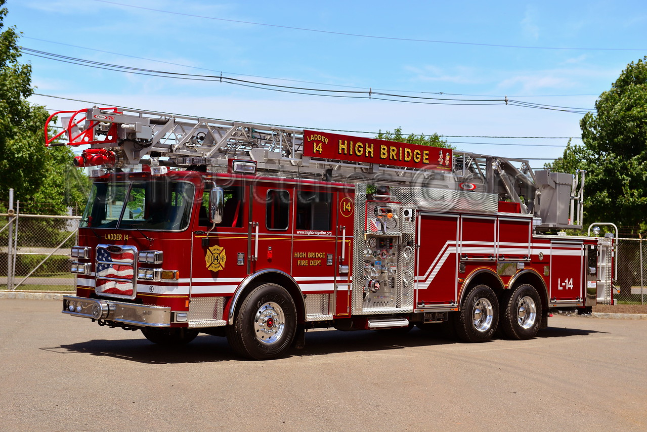 HIGH BRIDGE, NJ LADDER 14