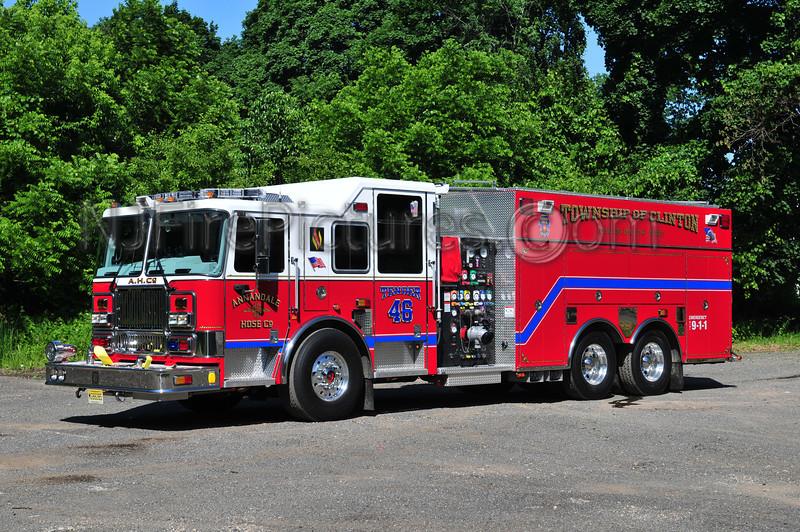 CLINTON TOWNSHIP, NJ TENDER 46 ANNANDALE FIRE CO.