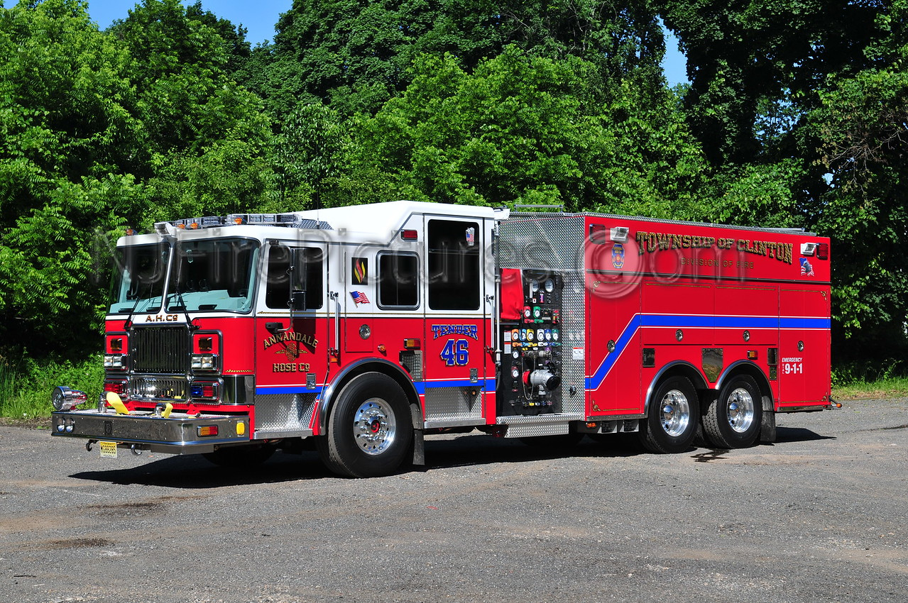 CLINTON TOWNSHIP, NJ TENDER 46 ANNANDALE FIRE CO.