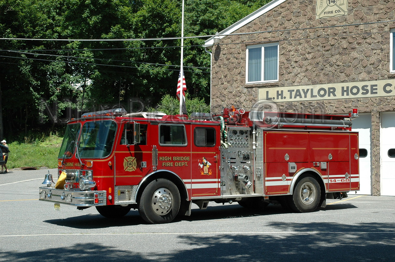HIGH BRIDGE, NJ ENGINE 14-68