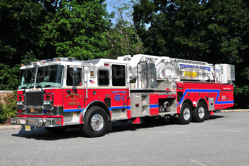 CLINTON TOWNSHIP, NJ TOWER 46-1 ANNADALE FIRE CO.