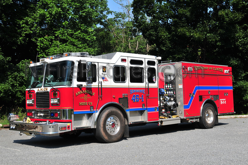 CLINTON TOWNSHIP, NJ ENGINE 46-1 ANNANDALE FIRE CO.