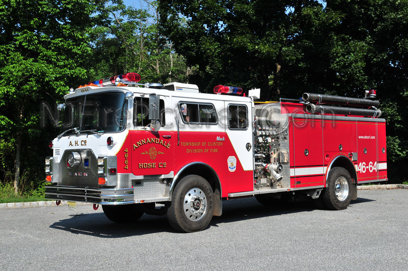 CLINTON TOWNSHIP, NJ ENGINE 46-64 ANNANDALE FIRE CO.