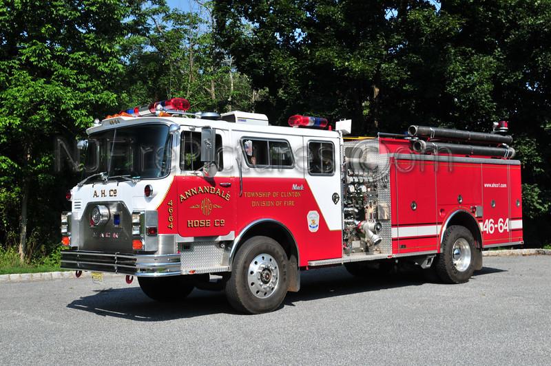 CLINTON TOWNSHIP, NJ ENGINE 46-64 ANNANDALE FIRE CO.