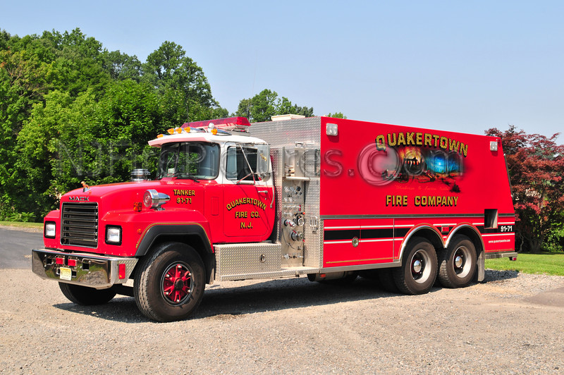 QUAKERTOWN, NJ TANKER 91-71