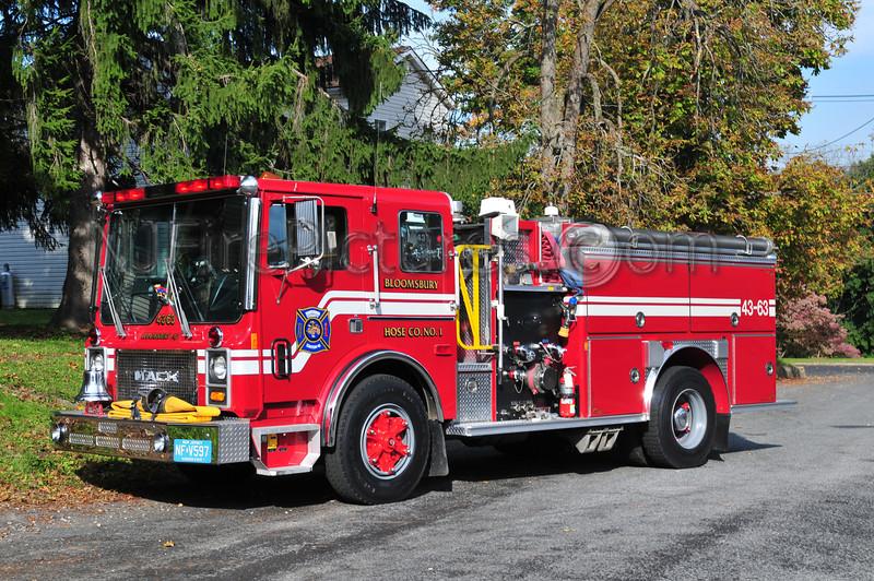 BLOOMSBURY, NJ ENGINE 43-63