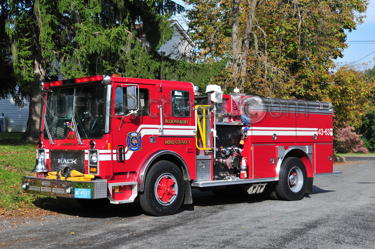 BLOOMSBURY, NJ ENGINE 43-63
