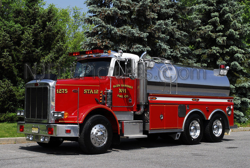 GLEN GARDNER, NJ TANKER 1275