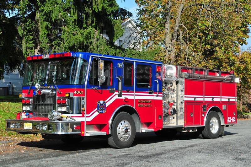 BLOOMSBURY, NJ ENGINE 43-64