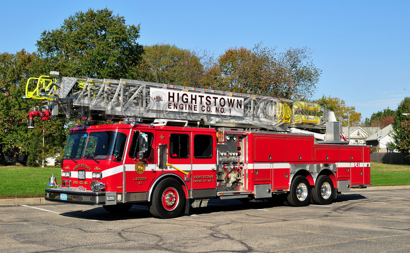 HIGHTSTOWN, NJ LADDER 41