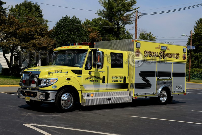 EWING TOWNSHIP, NJ SPECIAL SERVICES 31 PROSPECT HEIGHTS F.C.