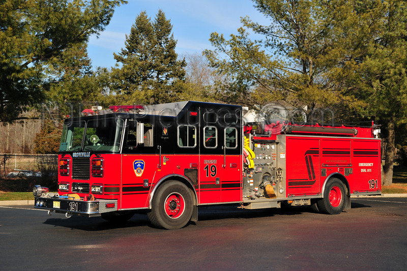 HAMILTON TOWNSHIP, NJ ENGINE 191 GROVEVILLE FIRE CO.