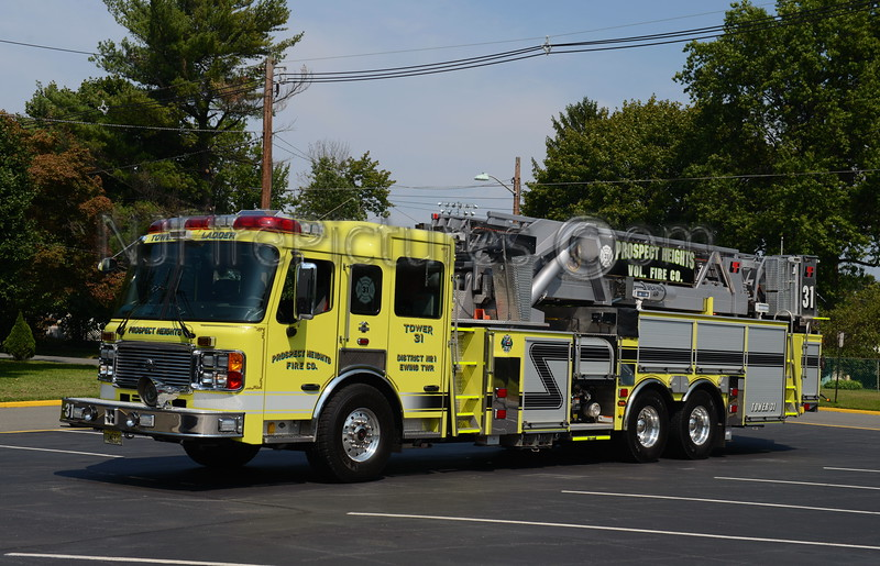 EWING TOWNSHIP, NJ TOWER 31 PROSPECT HEIGHTS FIRE CO.