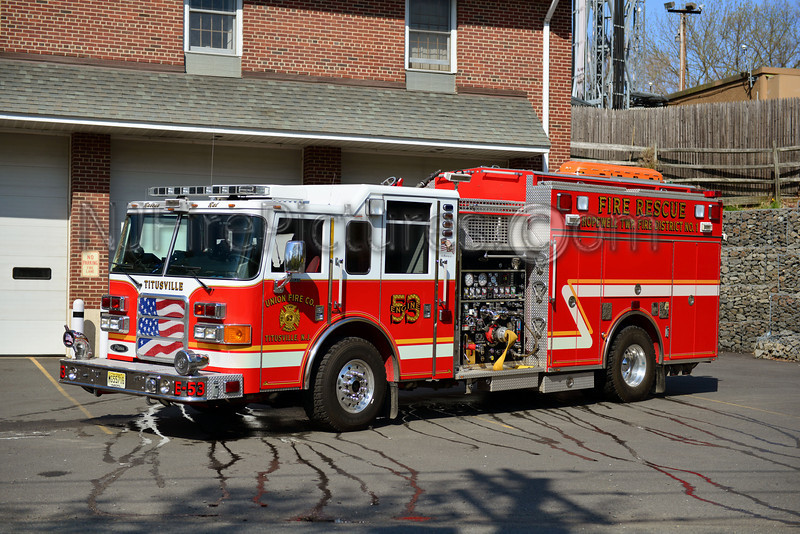 TITUSVILLE, NJ ENGINE 53