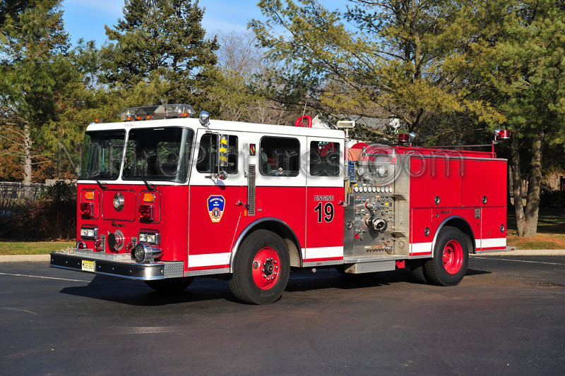 HAMILTON TOWNSHIP, NJ RESERVE ENGINE 19