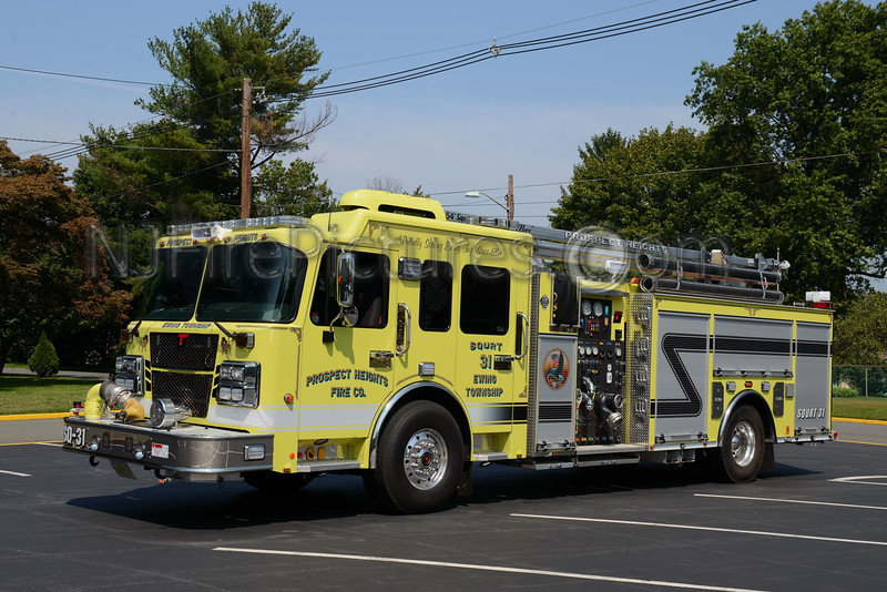 EWING TOWNSHIP, NJ SQURT 31 PROSPECT HEIGHTS FIRE CO.