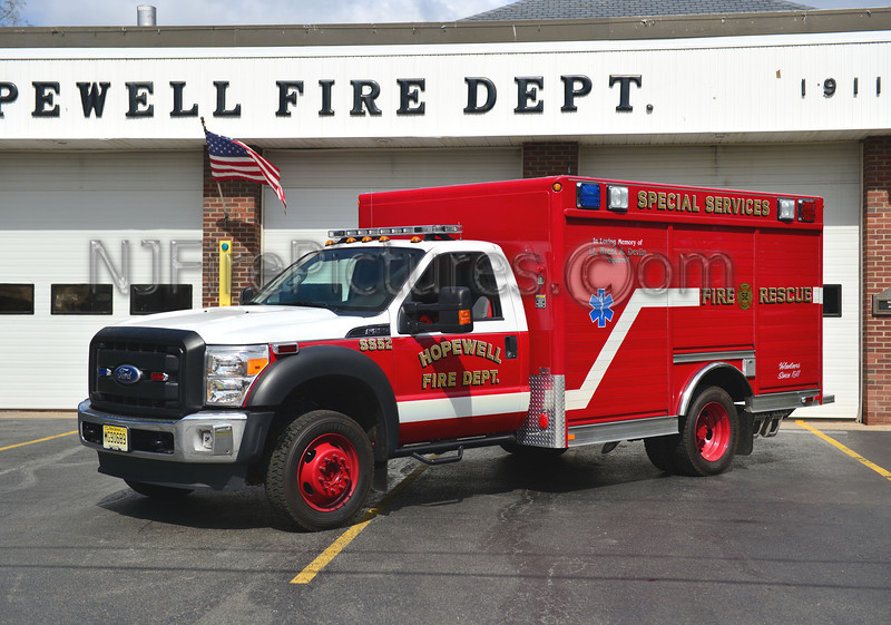 HOPEWELL, NJ SPECIAL SERVICE 52