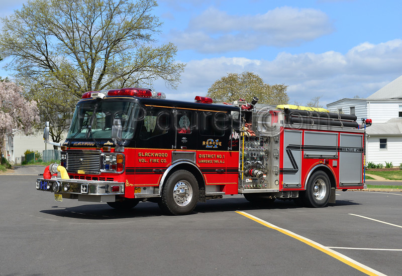 LAWRENCE TOWNSHIP, NJ RESCUE 21 SLACKWOOD FIRE CO.