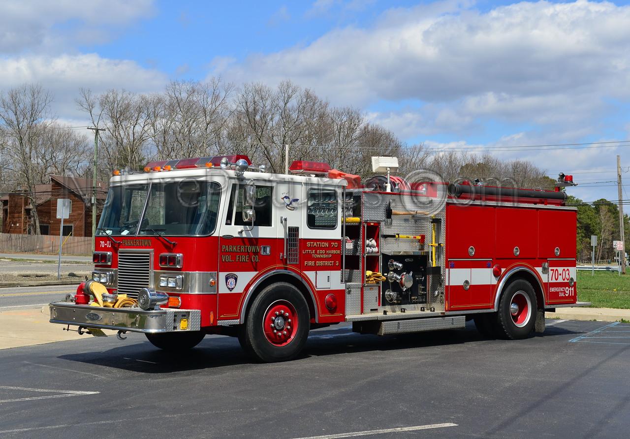 LITTLE EGG HARBOR, NJ (PARKERTOWN) ENGINE 7003