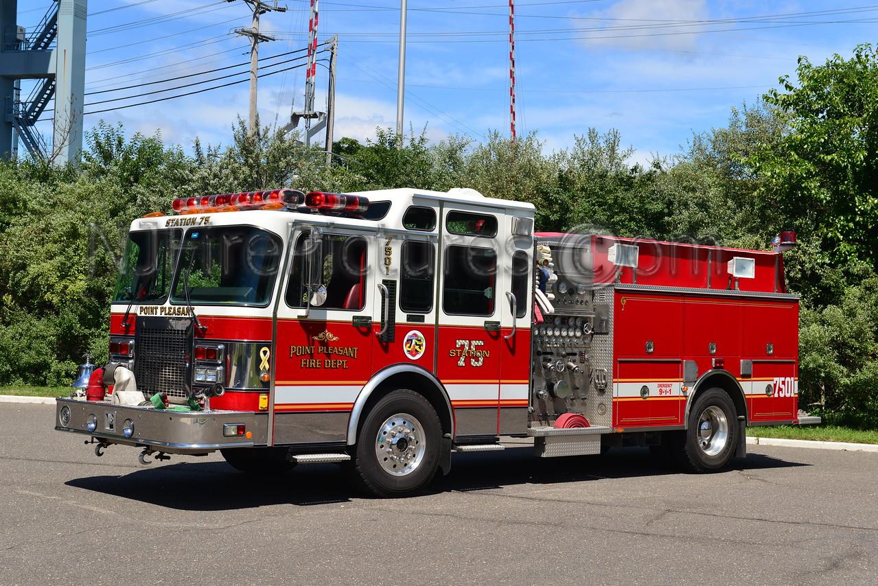 POINT PLEASANT BOROUGH, NJ ENGINE 7501