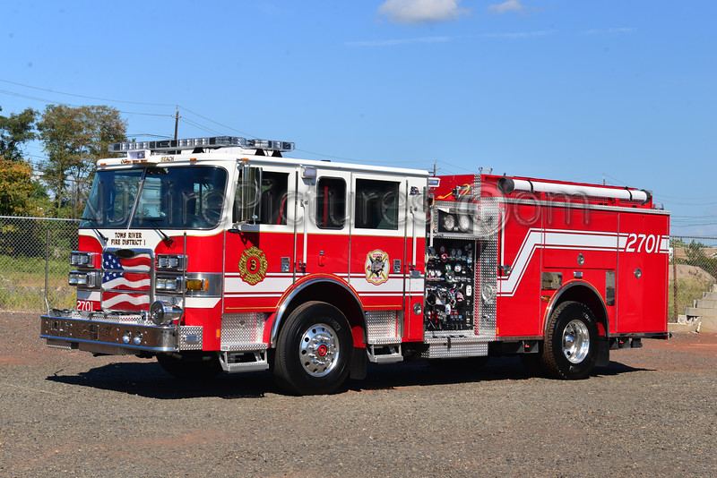 TOMS RIVER, NJ OCEAN BEACH FIRE CO. ENGINE 2701