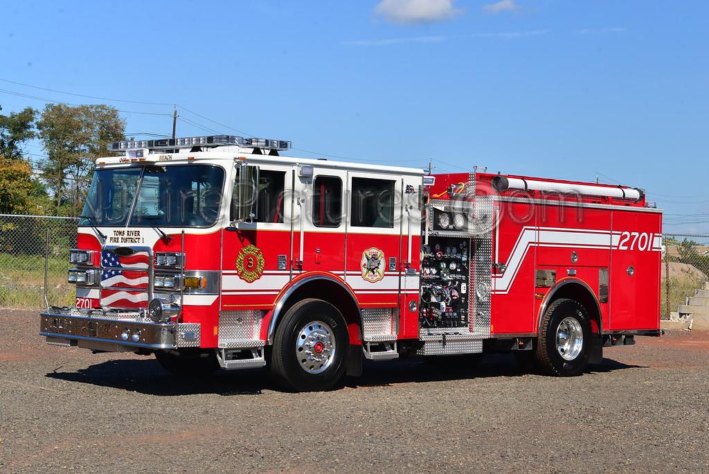 TOMS RIVER, NJ OCEAN BEACH FIRE CO. ENGINE 2701