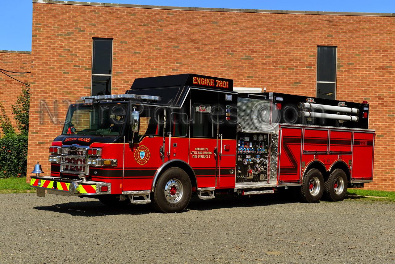 LITTLE EGG HARBOR, NJ ENGINE 7201 MYSTIC ISLAND FIRE CO.