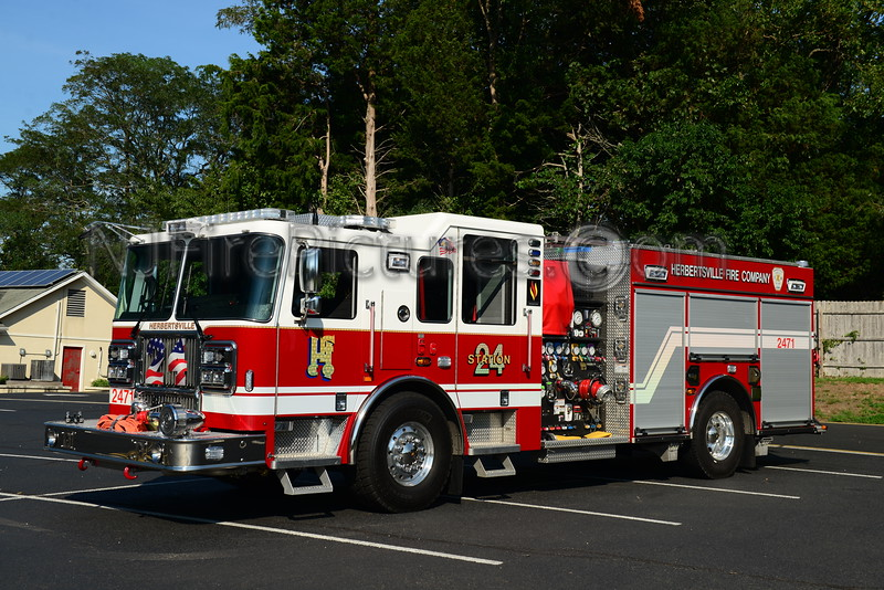 BRICK TWP, NJ HERBERTSVILLE FIRE CO. ENGINE 2471