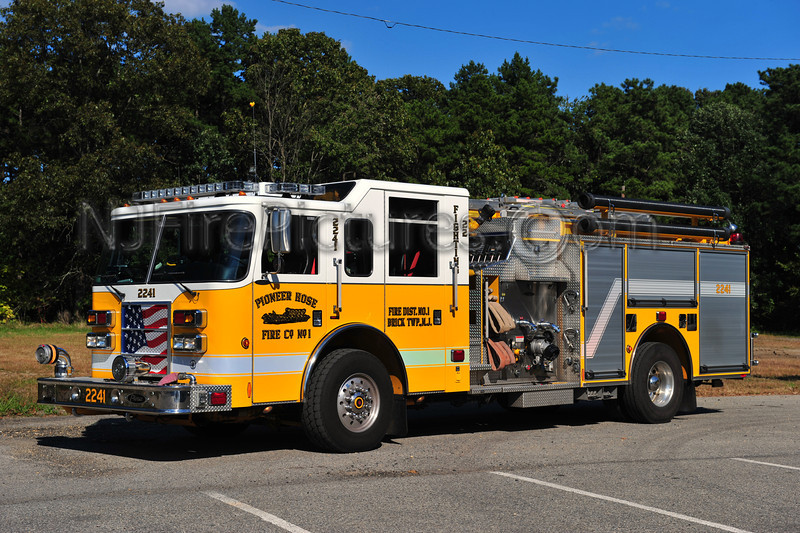 BRICK TWP, NJ PIONEER HOSE CO. 1 ENGINE 2241