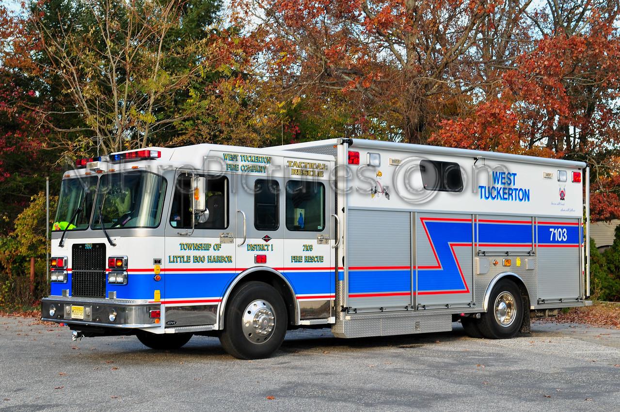 LITTLE EGG HARBOR, NJ (WEST TUCKERTON) RESCUE 7103