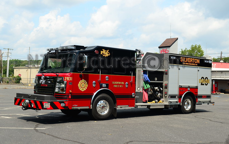 TOMS RIVER, NJ SILVERTON FIRE CO. ENGINE 2931