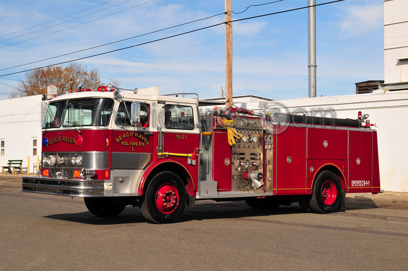 BEACH HAVEN, NJ ENGINE 1521