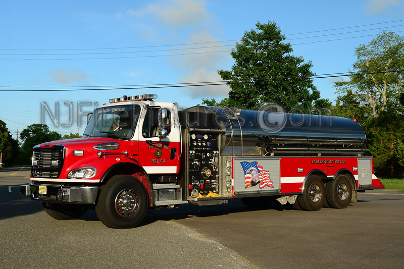 WEST CREEK, NJ EAGLESWOOD FIRE CO. TANKER 5208